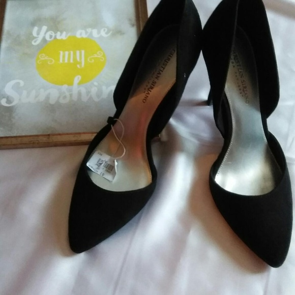 christian siriano for payless black heels
